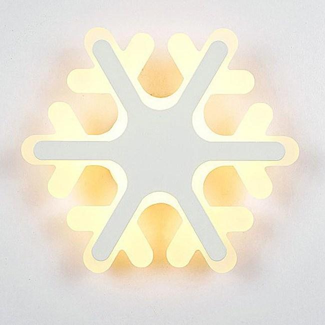 YPHOME 北歐風LED雪花(大)壁燈 PN0262011A