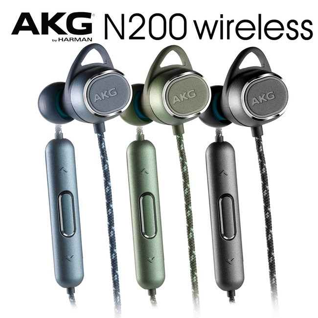 【送收納盒】AKG N200 WIRELESS 黑色 無線藍牙耳機 8Hr續航力