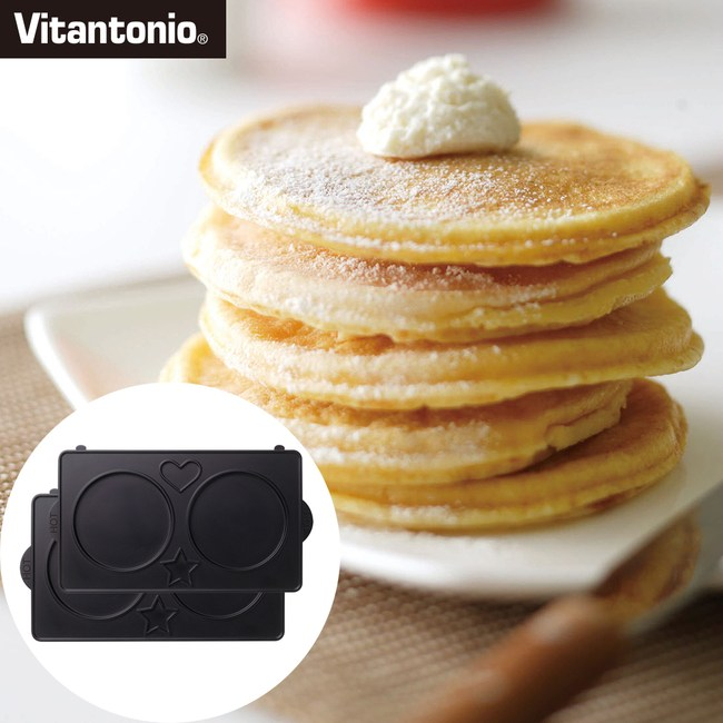 【日本Vitantonio】鬆餅機銅鑼燒烤盤
