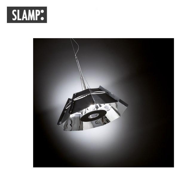 【SLAMP】CHAPEAU 吊燈鏡黑