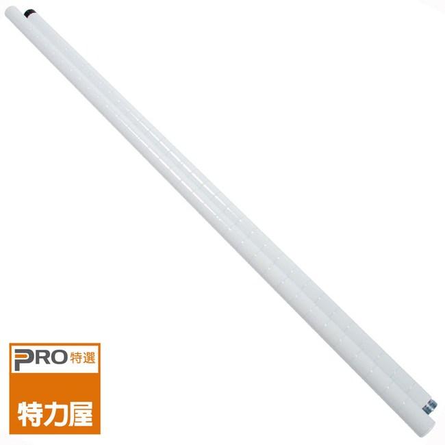 特力屋 PRO特選 烤漆鐵管 180cm 白色款 二段式連接
