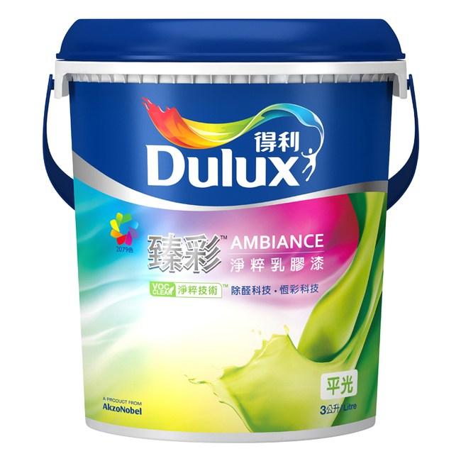 Dulux 得利 臻彩淨粹乳膠漆平光 百合白色 10L A760K2192L10