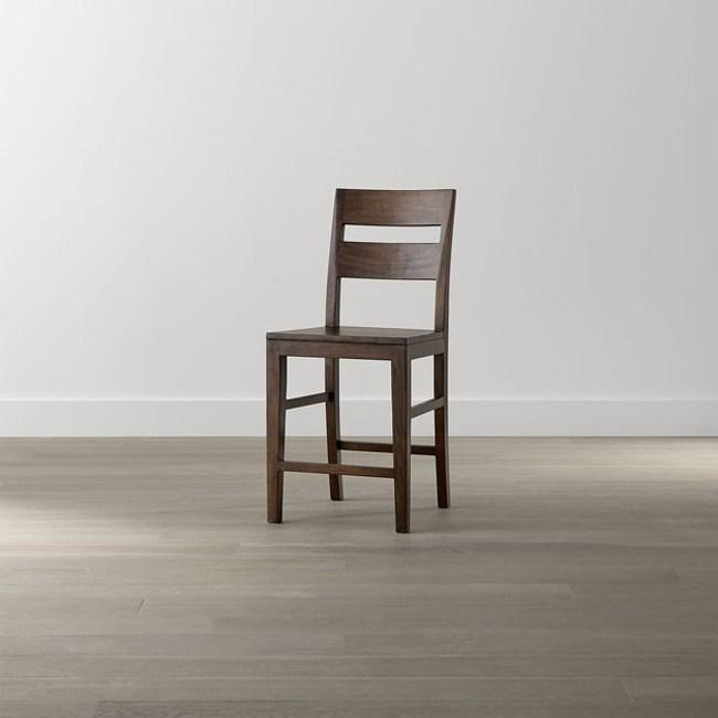 Crate&Barrel Basque 吧台椅 蜜糖色 60cm