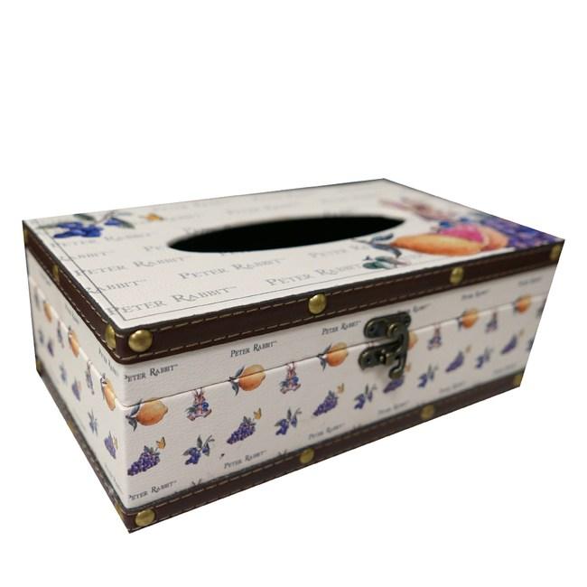 比得兔Peter Rabbit彼得兔復古面紙盒-水果