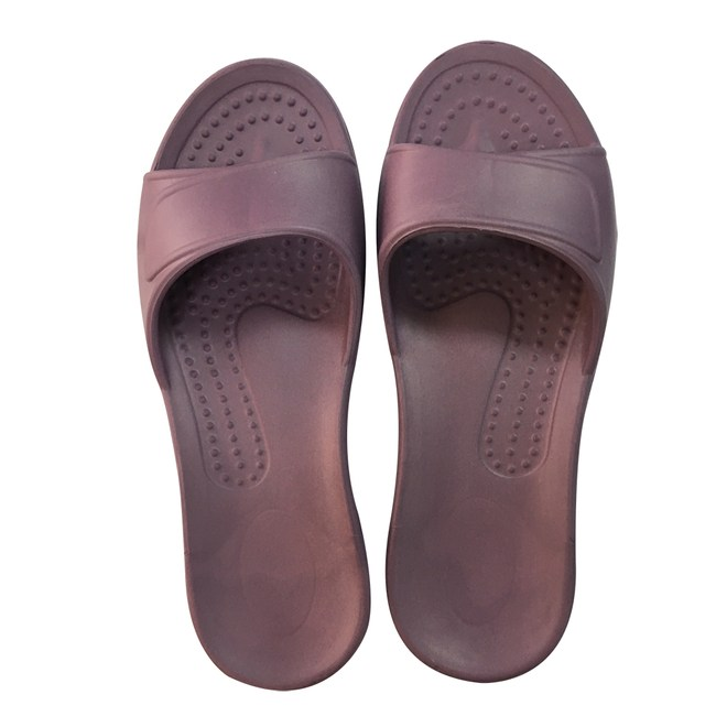 HOLA EVA柔軟室內拖鞋 粉紫S