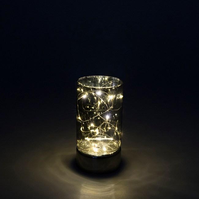 15燈LED玻璃圓筒造型燈(小)
