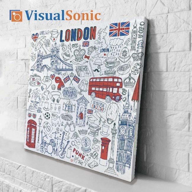 VISUAL SONIC超薄藍牙畫布音箱 London
