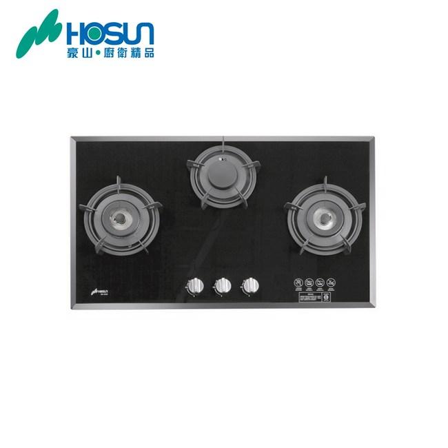 【豪山】歐化玻璃檯面爐(SB-3200)-桶裝瓦斯