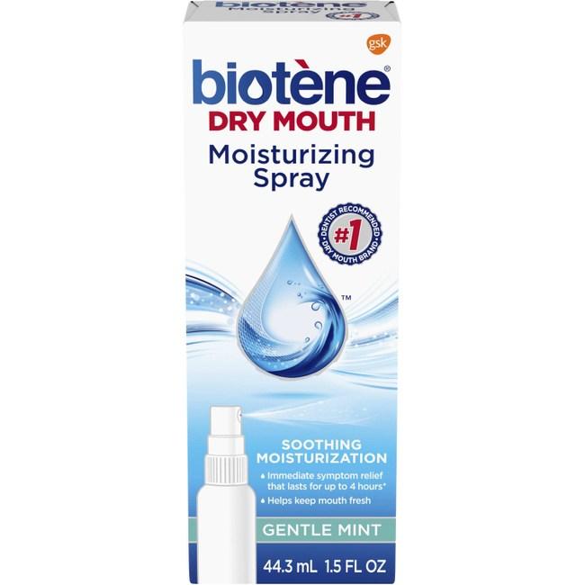 Biotene溫和薄荷保濕口噴霧-口乾症專用(44.3ml)*2