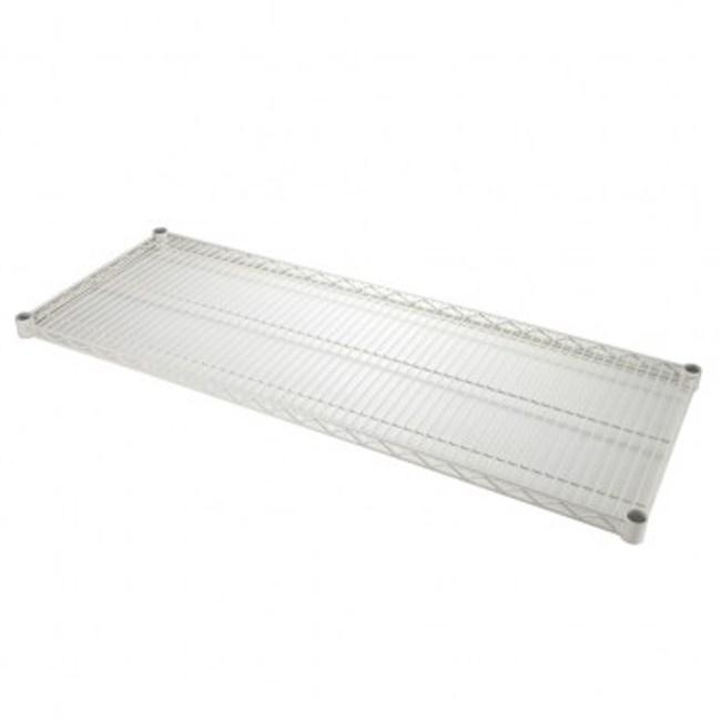 PRO特選烤漆重型鐵網 122x46cm 白