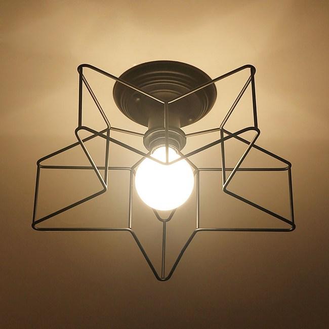 HONEY COMB 工業風星形吸頂燈 TA8210
