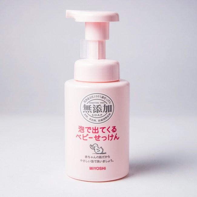 MiYOSHi無添加嬰幼兒泡沫沐浴乳250ml