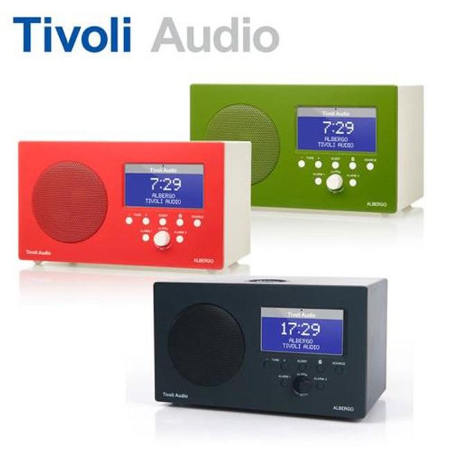 【Tivoli Audio】ALBERGO AM/FM 藍牙鬧鐘收音機綠色