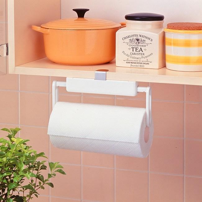 日本LEC扣鎖式層板專用捲筒紙巾架