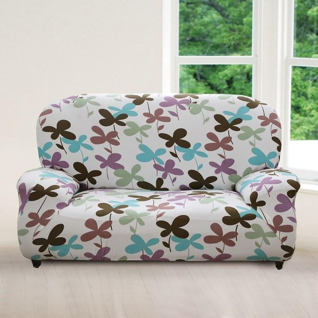 【格藍傢飾】幸運香草彈性沙發套-3人