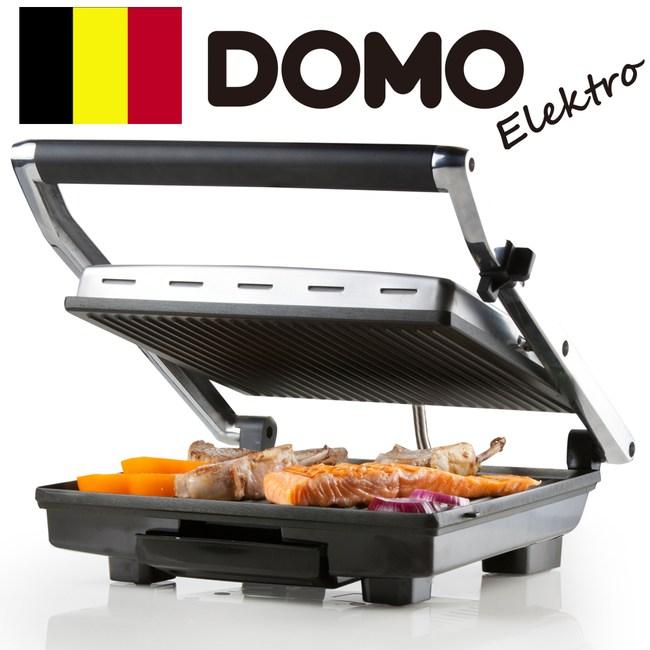 【比利時DOMO】可調溫帕尼尼三明治機DM9135T(福利品)福利品