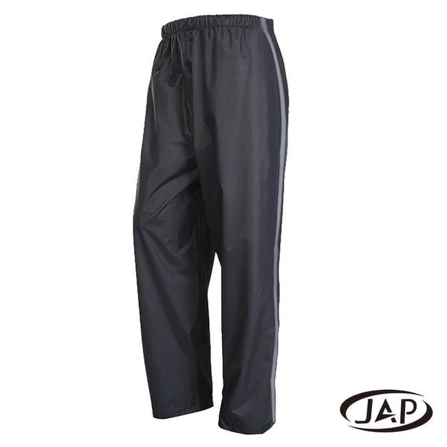JAP 3D立體反光透氣網雨褲-黑色 YW-R115-2XL