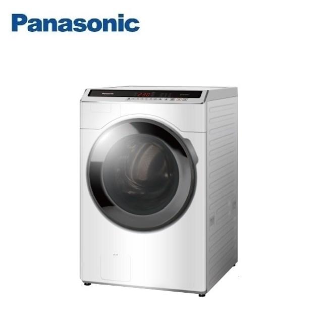 (含基本安裝)Panasonic國際16公斤洗脫滾筒洗衣機NA-V160HW-W
