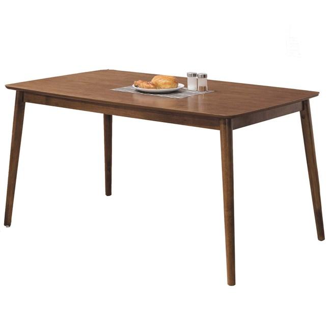 Homelike 莉雅沙5尺淺胡桃餐桌-150x90x76cm