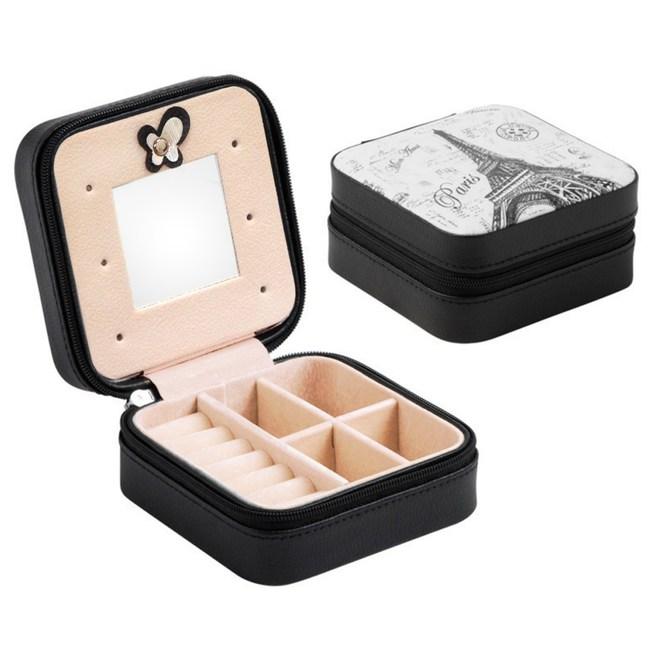 【COMET】精巧旅行便攜式飾品收納盒(TO-BX02)