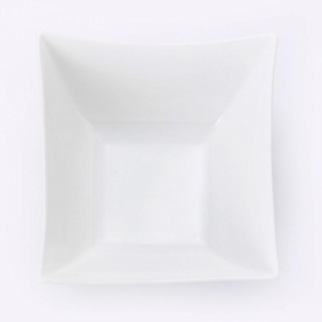 HOLA 雅堤方型碗 19cm  可適用烤箱/微波爐/洗碗機