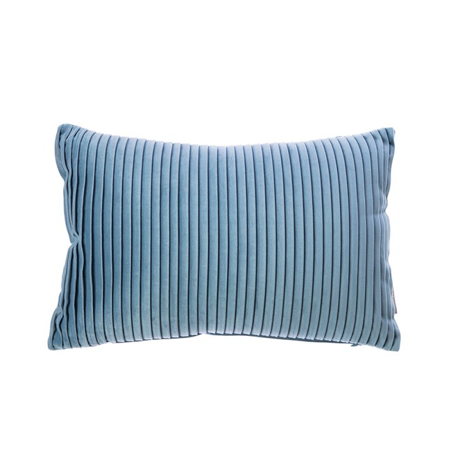 HOLA 蘇菲壓紋抱枕30x45cm牛仔藍