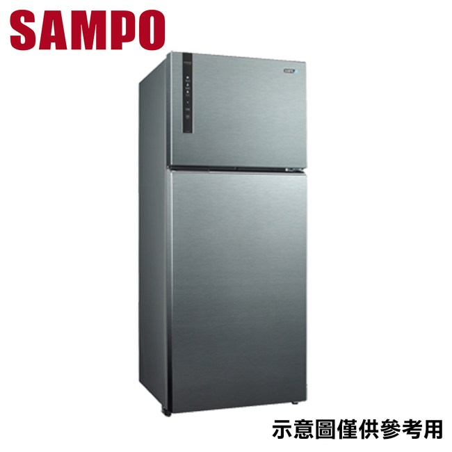 【SAMPO聲寶】580L 雙門變頻冰箱 SR-B58D(K3)
