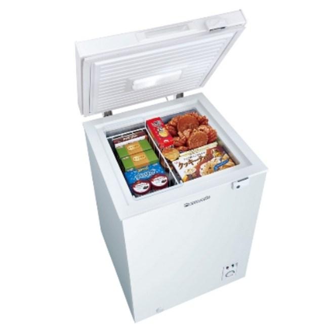 Panasonic國際牌100L掀蓋式冷凍櫃 NR-FC100-W