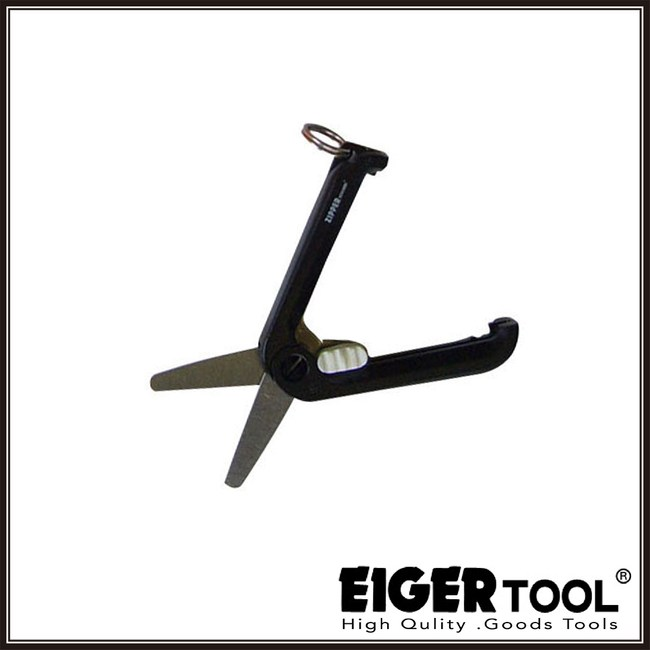 【Eigertool】迷你隨身剪刀-黑 ZPS03