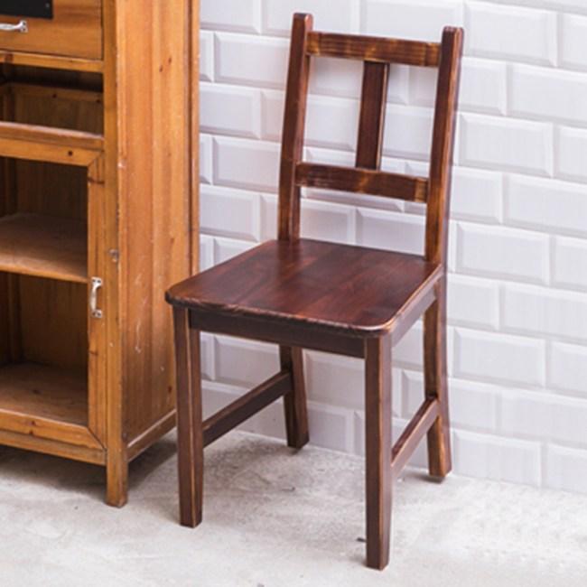 CiS 自然行 南法原木椅 咖啡胡桃色 (原木椅板)