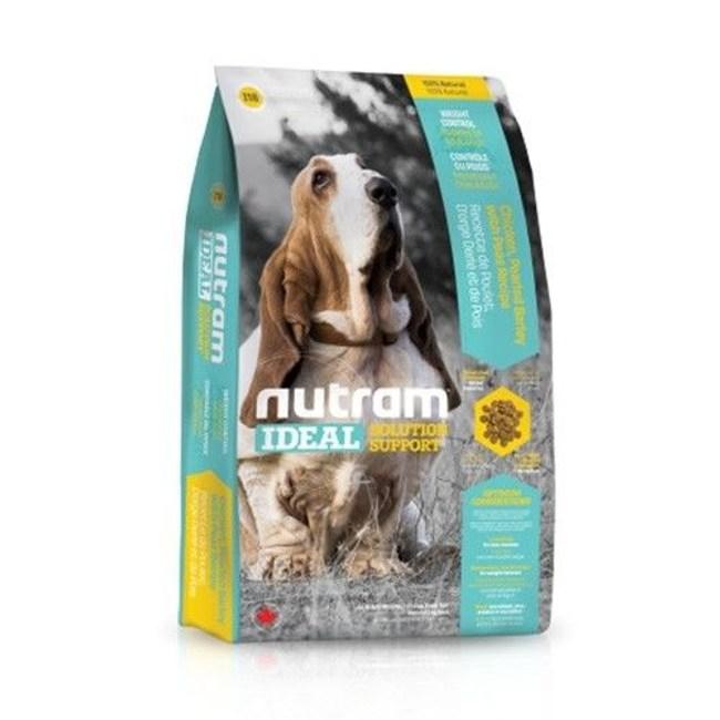 Nutram 紐頓 專業理想系列-I18體重控制犬雞肉碗豆 13.6kg X 1包