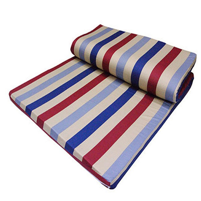 【VICTORIA】雙人天然乳膠床墊-4公分(每批花色不同隨機出貨)