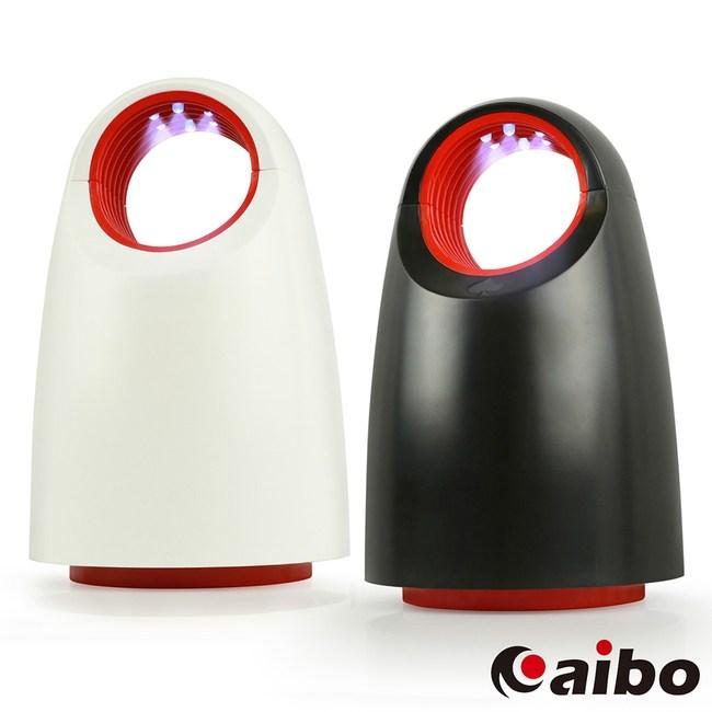 黑桃小呆 USB光觸媒吸入式捕蚊燈(USB-93)黑紅