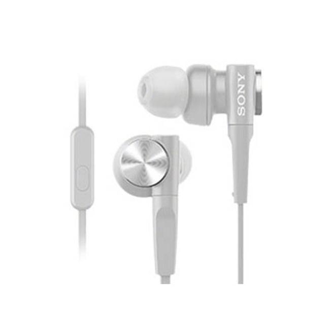 【送收納盒】SONY MDR-XB55AP 白 重低音入耳式 支援智慧型手機