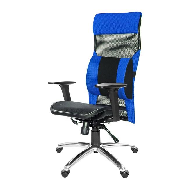 GXG 高背電腦椅(鋁合金腳/2D扶手/大腰枕)TW-170 LUA2#訂購備註顏色