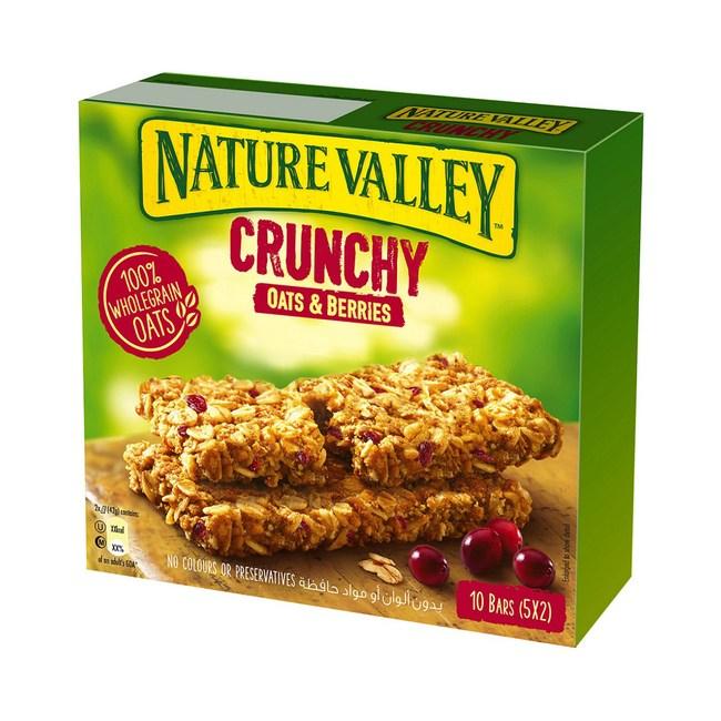 美國天然谷纖穀派蔓越莓燕麥210G