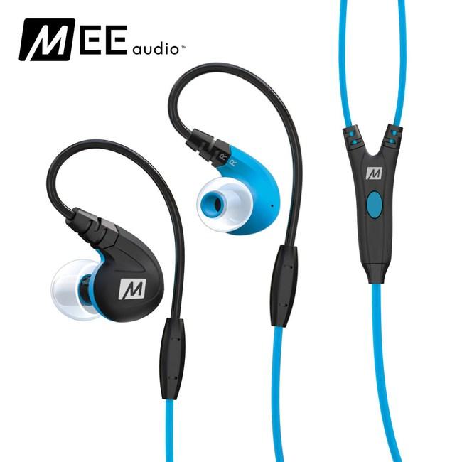 MEE audio M7P 運動耳道式耳機藍色