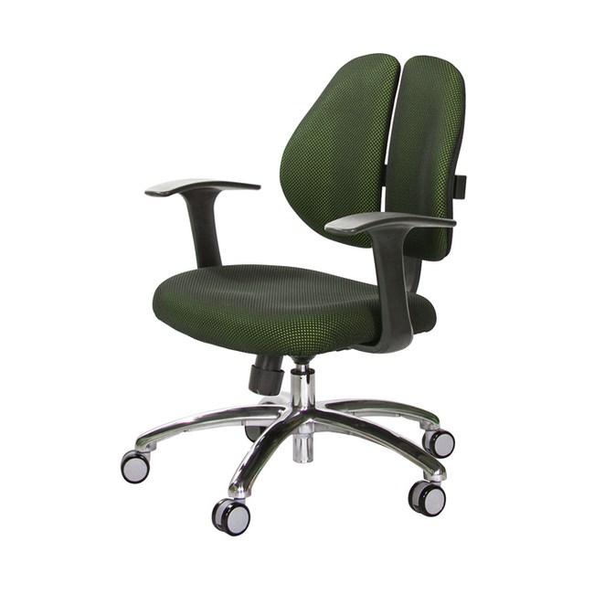 GXG 短背成泡 雙背椅 (鋁腳/T字扶手)TW-2990 LU#訂購備註顏色