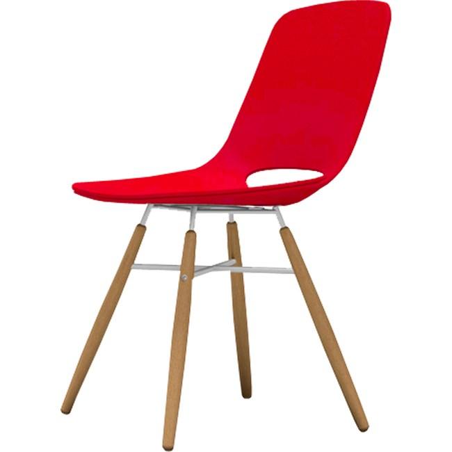 【YOI傢俱】歐特椅-紅