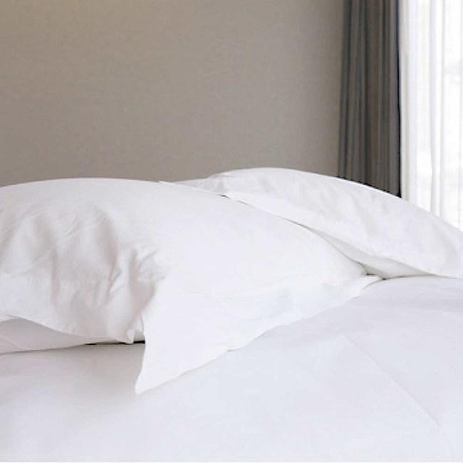 【法式寢飾花季】優雅生活-五星級飯店御用平紋枕套8入組