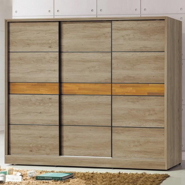 【YFS】馬克7.5x7尺衣櫃-224x60x197cm