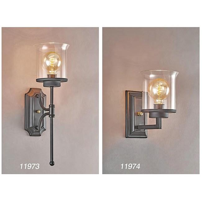 【PW居家燈飾】 現代風造型壁燈 干邑玻璃 大