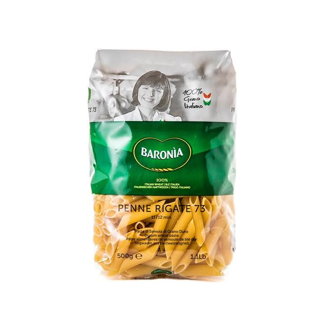 義大利BARONIA巴羅尼亞 尖筆造型麵 500g