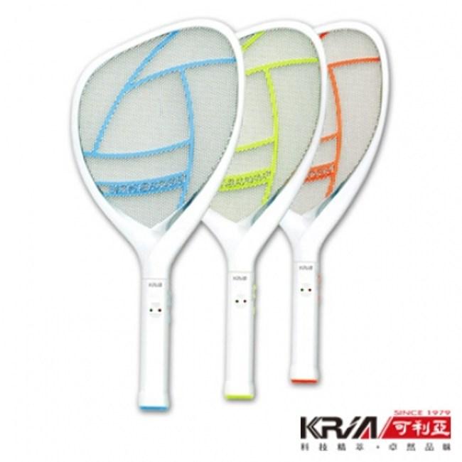 KRIA可利亞 忽必獵充電式照明三層電蚊拍/捕蚊拍KR-008(3入)