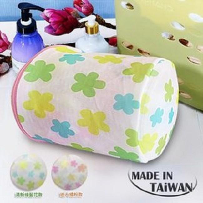 金德恩 台灣製 超細纖維 桶型洗衣袋17x16cm (2件組)