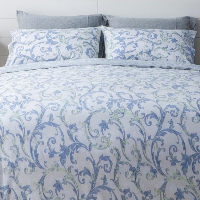 純棉床包兩用被四件組 雙人 瑟希爾