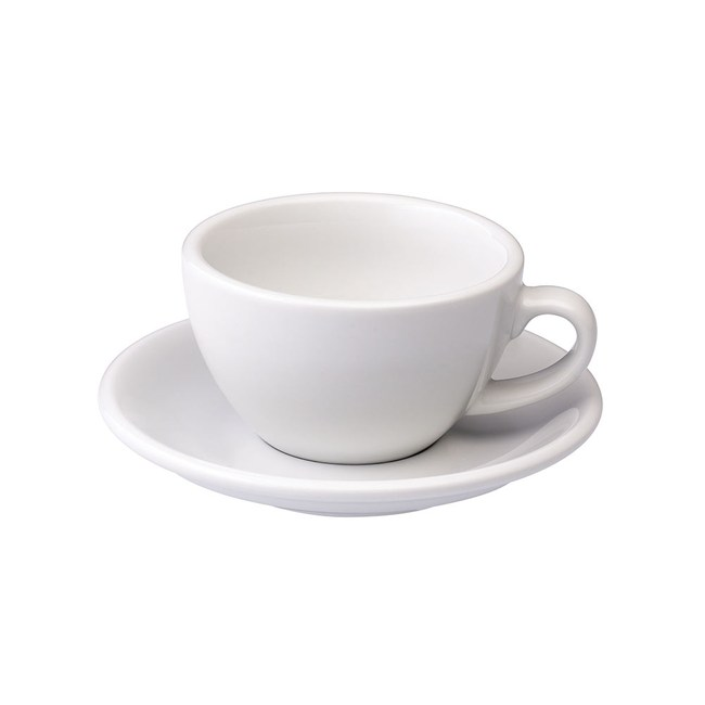 Loveramics Pro-Egg卡布奇諾咖啡杯盤組200ml(白)