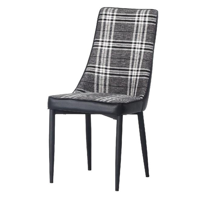【YFS】伯裏斯餐椅-45x50x94cm(兩色可選)格子