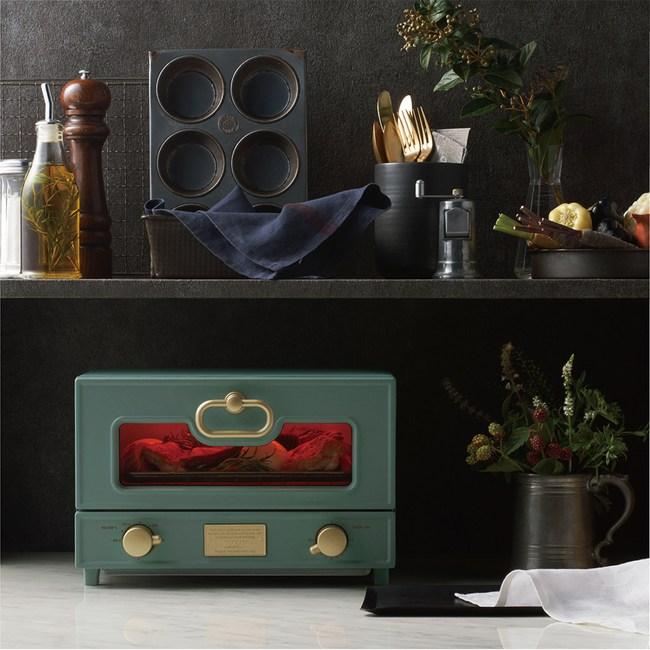 日本Toffy Oven Toaster電烤箱 板岩綠