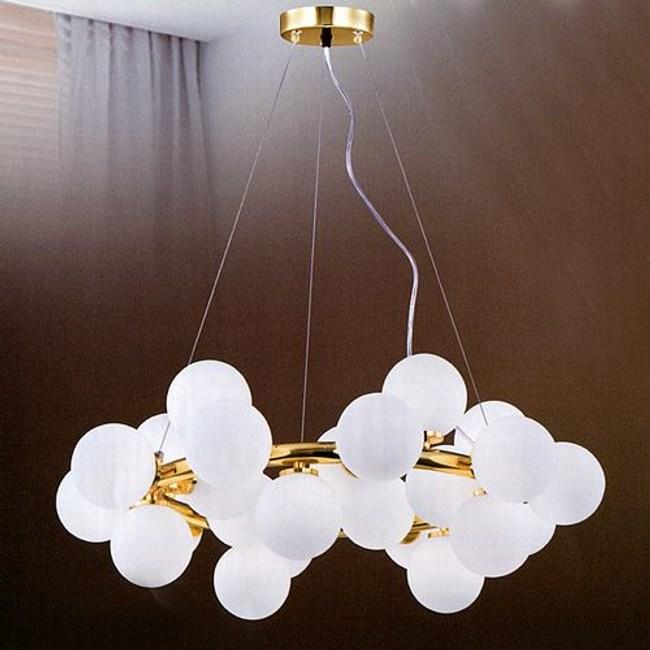 YPHOME 金屬玻璃吊燈 S80183H